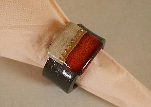 Dekorácie - Krúžky na servitky 6 ks - 6520589_