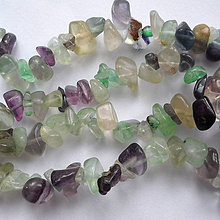 Minerály - Fluorit 1-návlek 10cm - 6521713_