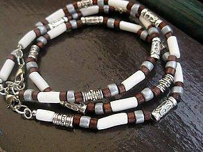 Šperky - Pánsky náhrdelník a náramok - sada - 6519464_