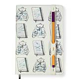 Papiernictvo - Zápisník A5 Zbalené - 6519397_
