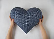Úžitkový textil - na ľudovú nôtu modrú... - 6518118_