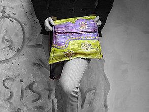 Kabelky - Originál malovaná kabelka - 6521644_