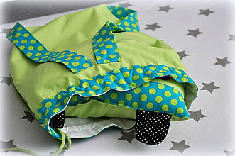 Textil - Ruksak, batôžtek 30x35cm - 6524573_