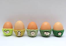 Dekorácie - Mini košíčky na vajíčka (100% biobavlna) - 6522572_
