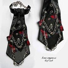 Iné doplnky - Punkovo-rocková kravata - 6525443_