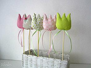 Dekorácie - Tulipány...romantik - 6523363_