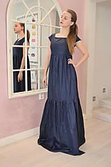 Šaty - Kráľovsky modré šaty  - 6523849_