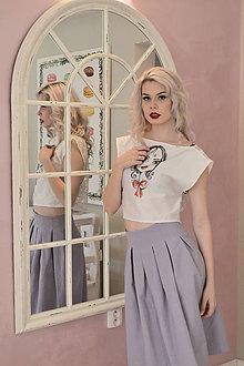 Sukne - Violetka - sukňa - 6523750_