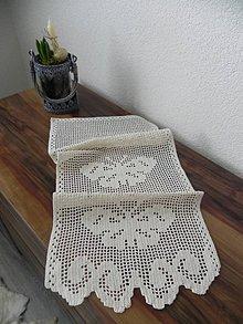 Úžitkový textil - Háčkovaný uteráčik - utierka - 6526596_