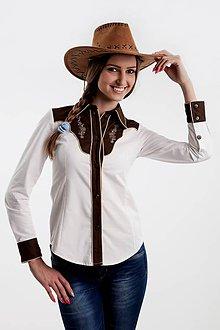 Koženkový kabát čierny (Limitovaná edícia). Na objednávku. Kabátik 5.  Košele - Dámska westernová košela (béžové lemovanie) - 6529223  32f5c7656e7