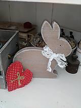 Drevený zajačik