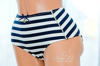 Bielizeň/Plavky - Dámske nohavičky klasické extra vysoký pás - 6525893_