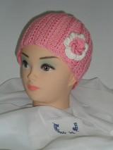 Detské čiapky - Háčkovaná čiapka - 6527880_