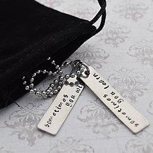 Náhrdelníky - Motivačný náhrdelník zľava 7€ - 6529738_