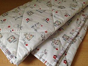 Textil - Malí mackovia - 6528360_