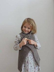 Detské oblečenie - Detská zavinovacia vesta - 6528060_
