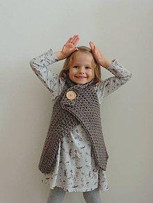 Detské oblečenie - Detská zavinovacia vesta - 6528074_