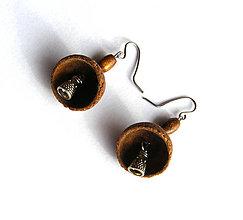 Náušnice - Žaluďové zvončeky v3 - 6528500_