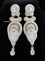 Náušnice - Ivory Wedding - 6532915_