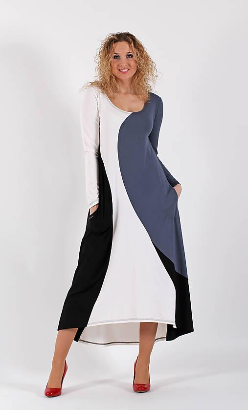 Šaty se zvonovou sukní - dlouhé   ladeesse - SAShE.sk - Handmade Šaty 29a8d15b7a