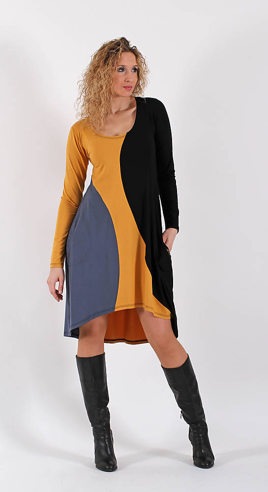Šaty se zvonovou sukní - krátké   ladeesse - SAShE.sk - Handmade Šaty ab92dabd73