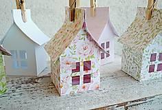 Dekorácie - Papierové domčeky - 6530072_