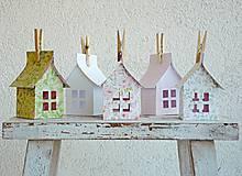 Dekorácie - Papierové domčeky - 6530073_