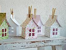 Dekorácie - Papierové domčeky - 6530074_