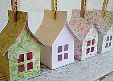 Dekorácie - Papierové domčeky - 6530078_