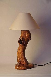 Svietidlá a sviečky - Beech table lamp _S - 6533022_