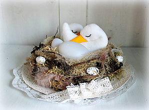 Dekorácie - husie hniezdo - 6533338_