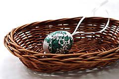 Dekorácie - Veľkonočné vajíčko - 6530799_