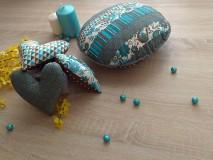 Úžitkový textil - Okrúhly vankúšik* - 6533800_