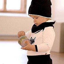 Detské čiapky - Čiapka s nákrčníkom (zateplená) - 6531391_