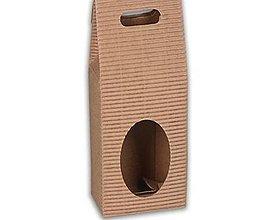 Obalový materiál - 200094 Škatuľka s okienkom - 6530723_