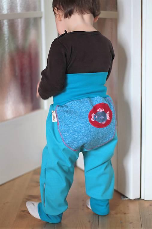 befada4e1234 Softshellové nohavice jarné letné   vimba - SAShE.sk - Handmade ...