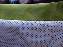 Textil - Látky do zelena - 6533584_