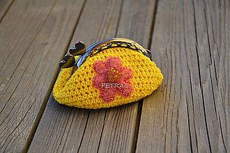 Peňaženky - Peňaženka slniečková - 6532778_