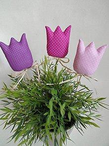 Dekorácie - Tulipány nežné - 6535285_