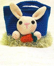 Detské tašky - Háčkovaná taška pre malých šibačov - 6538334_