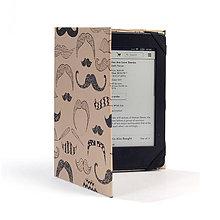 """Na mobil - Obal na tablet, čítačku """"Mustache"""" - 6536538_"""