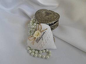 Darčeky pre svadobčanov - Darčeky pre svadobných hostí Ružičkové - 6537857_