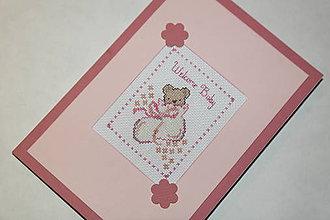 Papiernictvo - Welcome baby - dievčatko - 6537577_