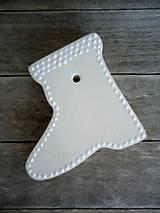 Dekorácie - Ozdoby vianočné biele veľké - sada White - 6542386_