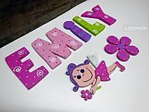 Tabuľky - Emily.....8cm písmenká - 6539240_