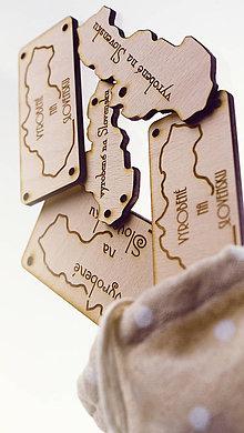 Iné doplnky - Drevené štítky, tagy, označovače VYROBENÉ NA SLOVENSKU 20ks - 6542471_
