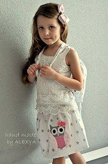 Detské oblečenie - suknička sovička, 110. Ihneď k odberu - 6542487_