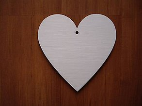 Materiál ručne robený - Srdce 12x12 cm - 6540270_