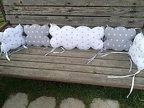 Textil - veľký obláčik - 6540672_