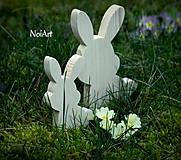 Dekorácia Zajace